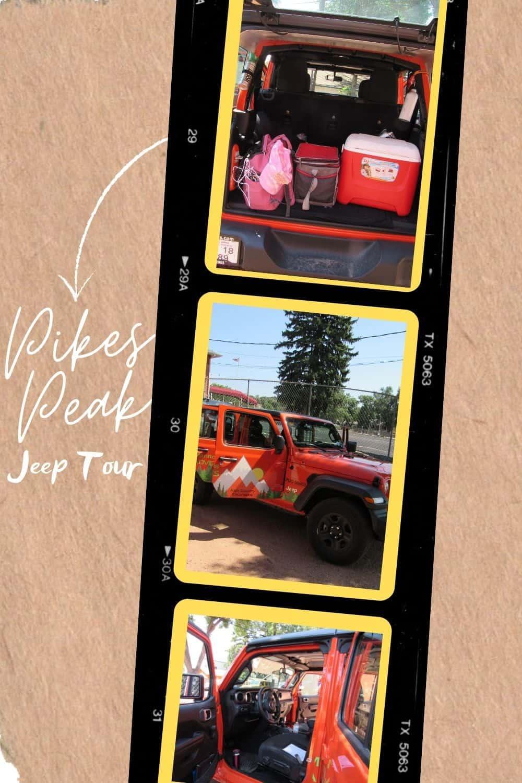 Pikes Peak Jeep Tour