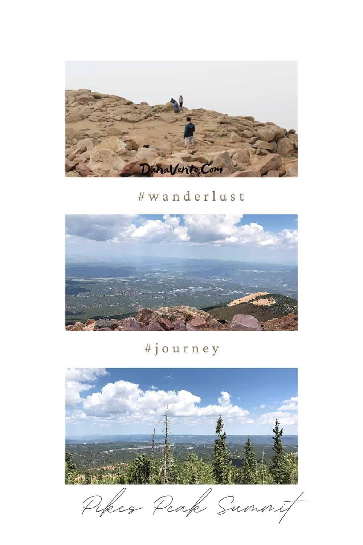 Pikes Peak Summit At Top walking