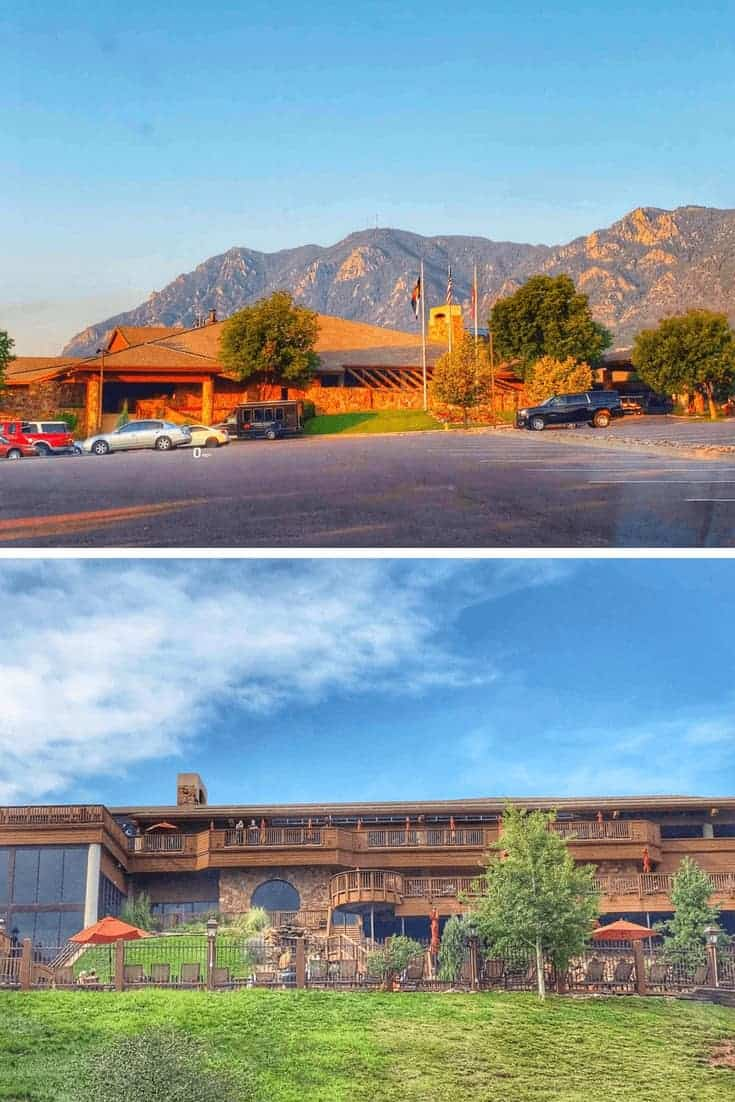 Cheyenne Mountain Resort Front and back
