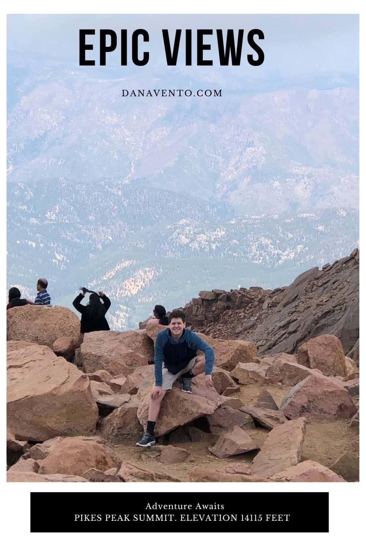 epic views atop pikes peak summit