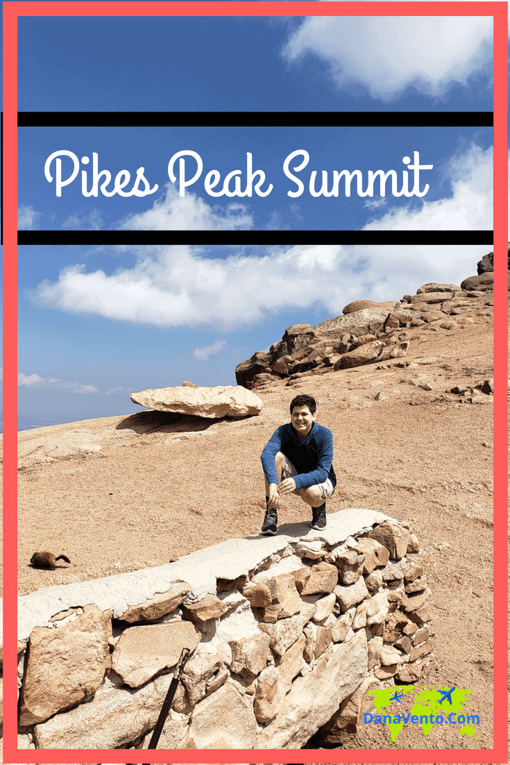 Pikes Peak Summit and Where Niko Travels