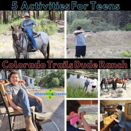 Five Activities For Teens At Colorado Trails Dude Ranch, Colorado, Colorado Ranch Vacation, Dude Ranchers, Ranch Vacation, Family Ranch Vacation, Durango, Horseback Riding, Travel, Travel with family, reunions, anniversaries, returning guests, parties, weddings, get away, week, adventure, outdoor adventures, whitewater rafting, fly fishing, fishing, fishing trips, New Mexico, shopping, Trading Post, Ruckus Room, Dining Hall, Dinner Bell, Chef, Gourmet Eats, Cabins, bunk beds, porches, scenery, scenic, Horse Trails, Hiking, Horse Drawn Wagon, Tractor Pulls, Hayrides, Swimming, Line Dancing, Ice Cream Social, Music, Adult Dinner, Kid counselors, personalized time, holidays, summer travel, in the mountains, trap shooting, 22 shooting, bb guns, volleyball, basketball, archery, all-inclusive, lifestyle, adventure travel, travel, travel as a family, traveling, traveling together, traveling solo, travel and adventures, travel time, travel in USA, destinations for travel, travel destination, travel and fun, fun and traveling, adventures of a family, family adventures traveling, travel places, travel around, travel by car, travel by plane, airplane travel, airplane seats, traveling with kids, traveling with teens, traveling as a family, traveling as a couple, trips, viaje, vacaciones, walk, bus, globetrotting together, globetrotting solo, no passport required, travel with passports, travel without passports, pack, luggage, backpacks, travel bags, travel things, travel timing, travel planning, what you need to know, hotels, lodges, resorts, luxury travel, bucket list, travel blog, travel blogger, travel the world, see the world, travel deeper, travel destination, single, couples, families, activities, where to, explore more, tourism, passion passport, travel blogging, travel article, where to travel, travel tips, travel envy, travel knowledge, activities, fun activities, daring activities, travel large,walking, traveling, hiking, world traveler, travel expert, see the world,r