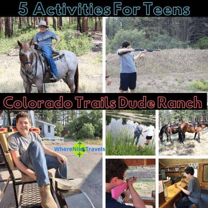 Five Activities For Teens At Colorado Trails Dude Ranch, Colorado, Colorado Ranch Vacation, Dude Ranchers, Ranch Vacation, Family Ranch Vacation, Durango, Horseback Riding, Travel, Travel with family, reunions, anniversaries, returning guests, parties, weddings, get away, week, adventure, outdoor adventures, whitewater rafting, fly fishing, fishing, fishing trips, New Mexico, shopping, Trading Post, Ruckus Room, Dining Hall, Dinner Bell, Chef, Gourmet Eats, Cabins, bunk beds, porches, scenery, scenic, Horse Trails, Hiking, Horse Drawn Wagon, Tractor Pulls, Hayrides, Swimming, Line Dancing, Ice Cream Social, Music, Adult Dinner, Kid counselors, personalized time, holidays, summer travel, in the mountains, trap shooting, 22 shooting, bb guns, volleyball, basketball, archery, all-inclusive, lifestyle, adventure travel, travel, travel as a family, traveling, traveling together, traveling solo, travel and adventures, travel time, travel in USA, destinations for travel, travel destination, travel and fun, fun and traveling, adventures of a family, family adventures traveling, travel places, travel around, travel by car, travel by plane, airplane travel, airplane seats, traveling with kids, traveling with teens, traveling as a family, traveling as a couple, trips, viaje, vacaciones, walk, bus, globetrotting together, globetrotting solo, no passport required, travel with passports, travel without passports, pack, luggage, backpacks, travel bags, travel things, travel timing, travel planning, what you need to know, hotels, lodges, resorts, luxury travel, bucket list, travel blog, travel blogger, travel the world, see the world, travel deeper, travel destination, single, couples, families, activities, where to, explore more, tourism, passion passport, travel blogging, travel article, where to travel, travel tips, travel envy, travel knowledge, activities, fun activities, daring activities, travel large,walking, traveling, hiking, world traveler, travel expert, see the world,raveling, Travel and Adventure, conquer the world, globe trotting, beautiful destination, bucket list avenger, travel blog, travel blogger, travel the world, see the world, travel deeper, travel destination, single, couples, families, activities, where to, explore more, tourism, passion passport, travel blogging, travel article, where to travel, travel tips, travel envy, travel knowledge, activities, fun activities, daring activities, travel large, Car travel, travel by car, travel by vehicle, auto travel, traveling together, diy, packing,easy access,