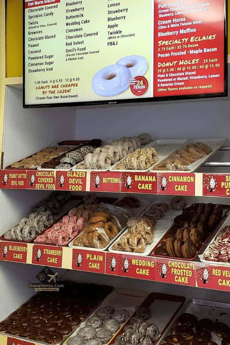 bayou country hot donuts