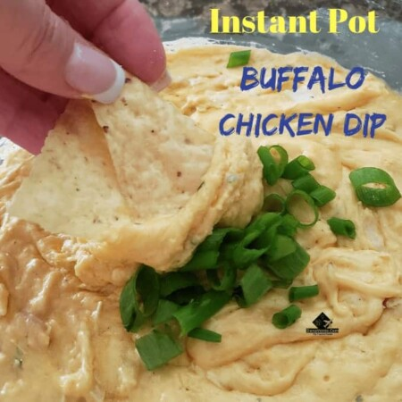 Instant Pot Buffalo Chicken Dip, chicken, hot sauce, dip, spicy, parties, celebrations, dipping, chips, crackers, bread, football, hockey, baseball, get together's, holidays, diy, easy, fast, instant pot recipe, easy to do, snack time, dig in, cheesy, meat, hot and spicy, cream cheese, fast to make, ready in minutes