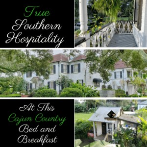 Southern Hospitality 2019: Cajun Country Bed & Breakfast