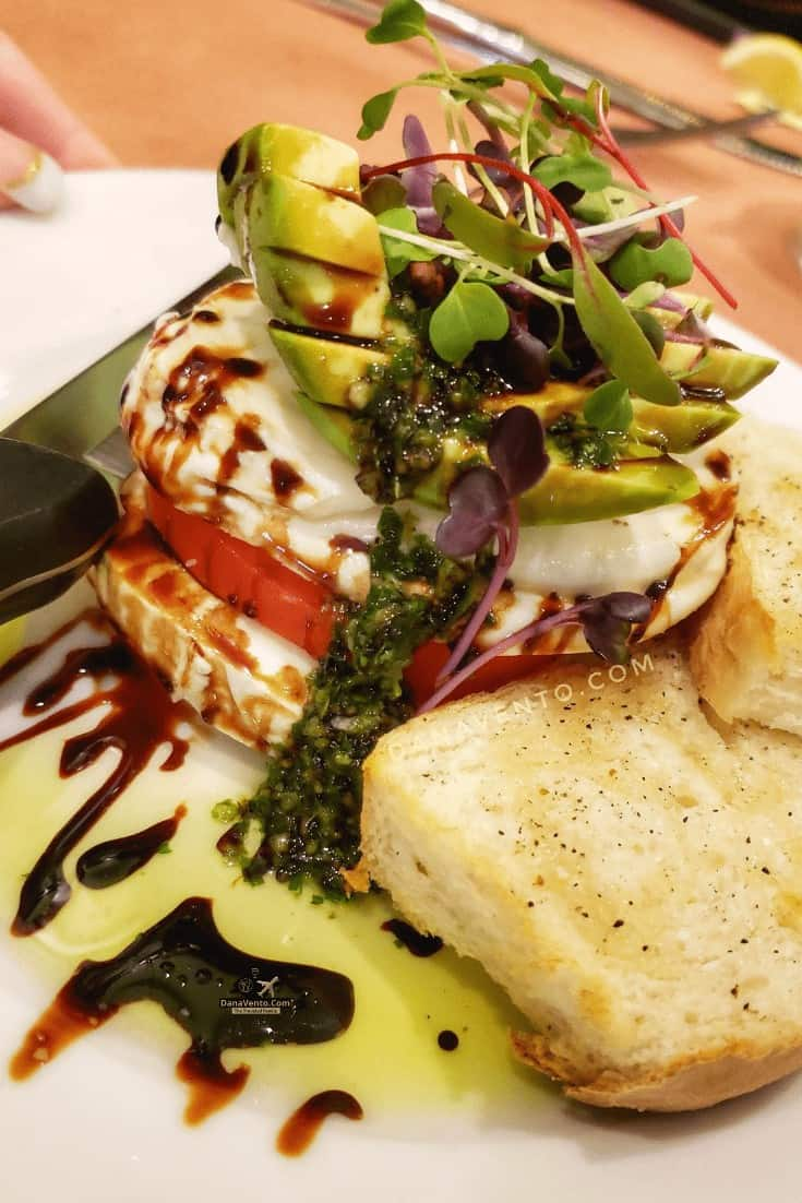 Caprese Salad Dominique's Bistro