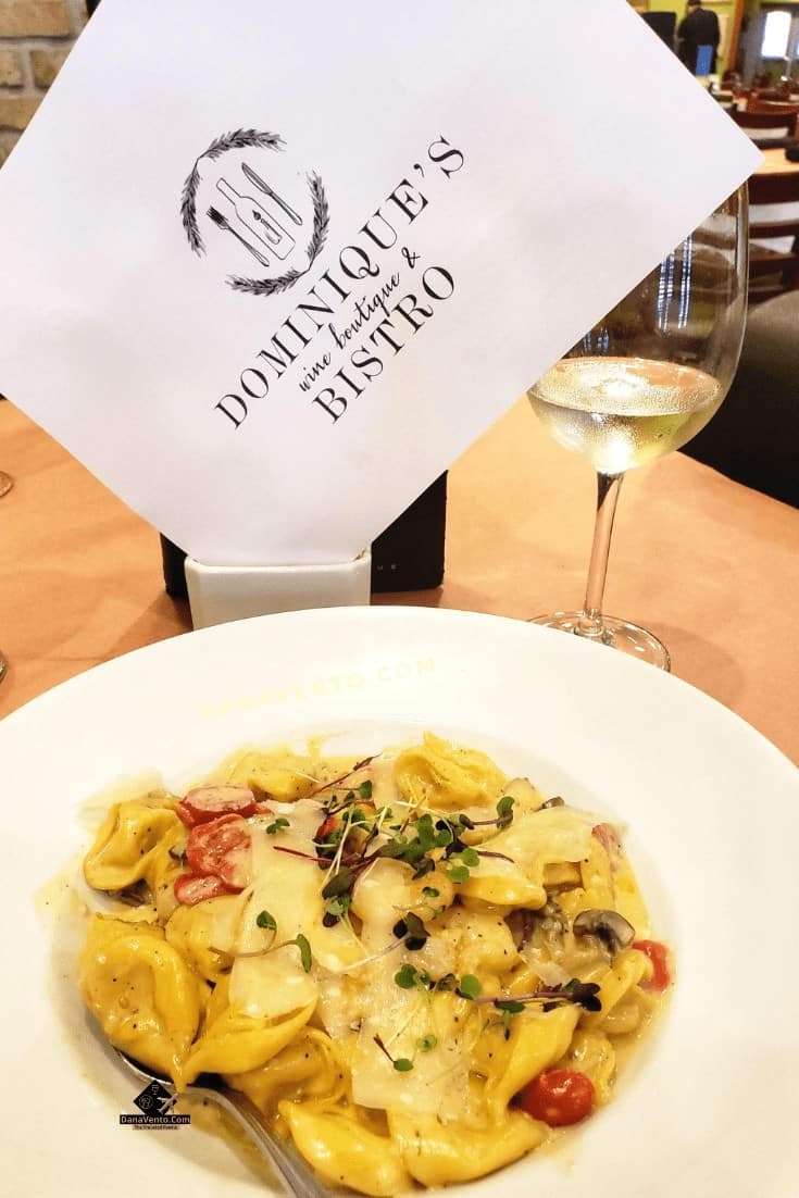Bayou Country Lunch Destinations. Five Cheese Tortellini with, gulf shrimp, mushrooms, tomatoes, truffle cream sauce