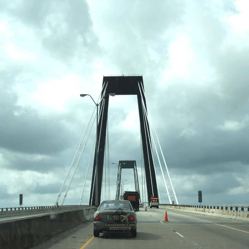 bridge in Houma heading to 531 Liberty