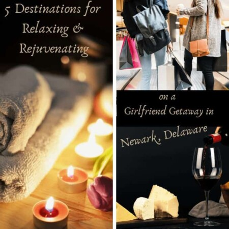 5 Destinations for Relaxing and Rejuvenating on a Girlfriend Getaway in Newark, Delaware, spa, meals, shopping, car shopping, where to go, where to stay, bed and breakfast, pet friendly, train ride, things girls do, wine, eating, pub and grub, go local, stay local , university of Delaware, car article