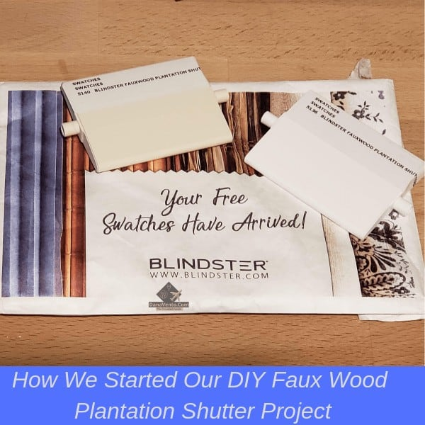 Blindster.com samples for the sidelight window treatments for pets and privacy