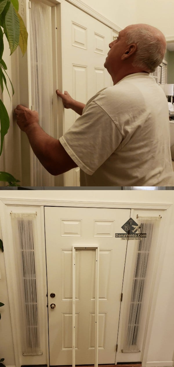 Placement of sidelight shutter