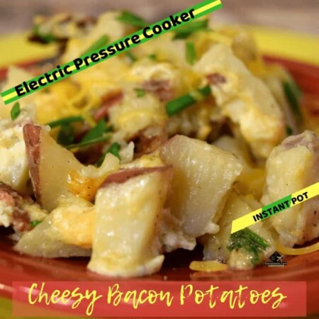 pressure cooker cheesy bacon potato cubes, pressure cooker, electric pressure cooker instant pot, cooking, potatoes, party, instant pot recipe, pressure cooker recipe, diy, cheese, bacon, onions, plates, celebrations, gatherings, holidays, fast to make, easy recipe, side dishes, make it vegetarian