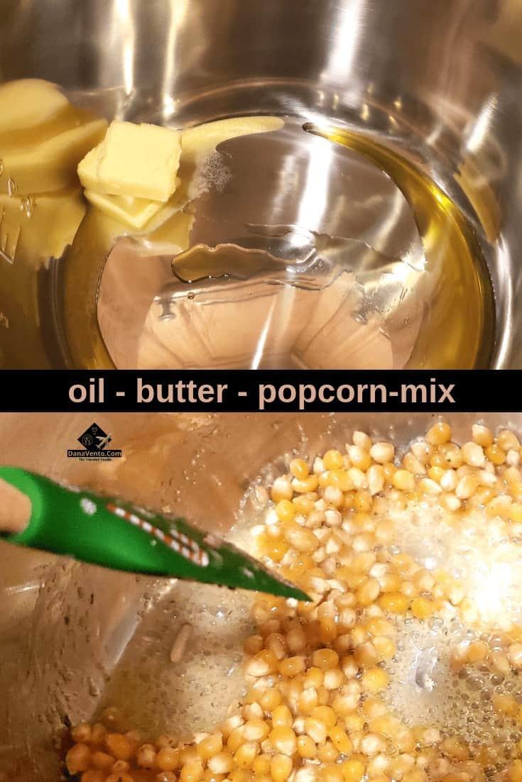 Power Quick Pot Garlic Parmesan Popcorn , popcorn, garlic, butter, oil, Power Quick Pot, Power Quick Pot Recipe, recipe, good popcorn, not stoveetop, homemade popcorn, seasoned popcorn