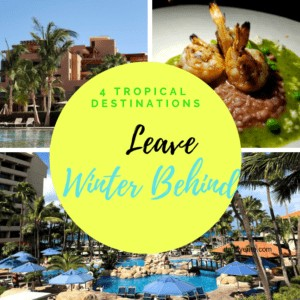 4 Tropical Destinations To Travel To And Leave Winter Behind