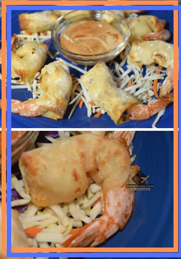 Air Fryer Firecracker Shrimp In Wonton Wrappers with dipping sauce