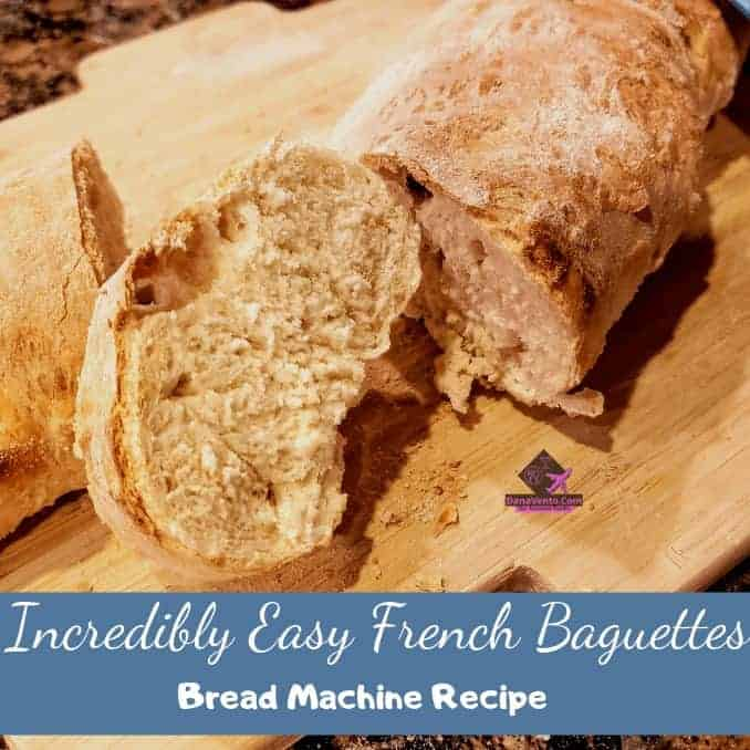 Incredibly Easy French Baguette Bread Machine Recipe, yeast, bread machine, fast and easy, part bread machine, part hand rolling, rolls, bread, loaves, loaf, crusty, video recipe, bread video recipe, fail safe, dough, secret to success, bread making, easy bread making