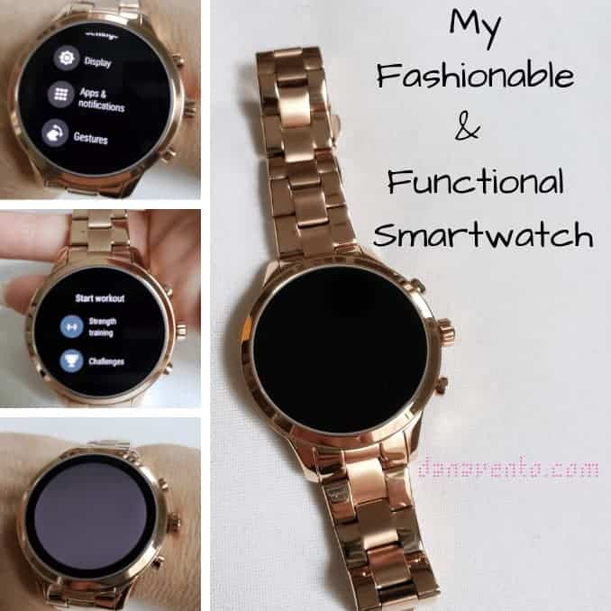 My Fashionable and Functional Smartwatch
