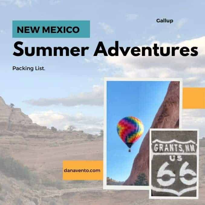 What To Pack For A Trip To Gallup, New Mexico