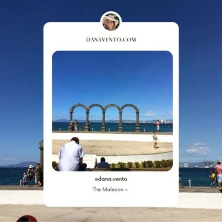 Puerto Vallarta Malecon Arches