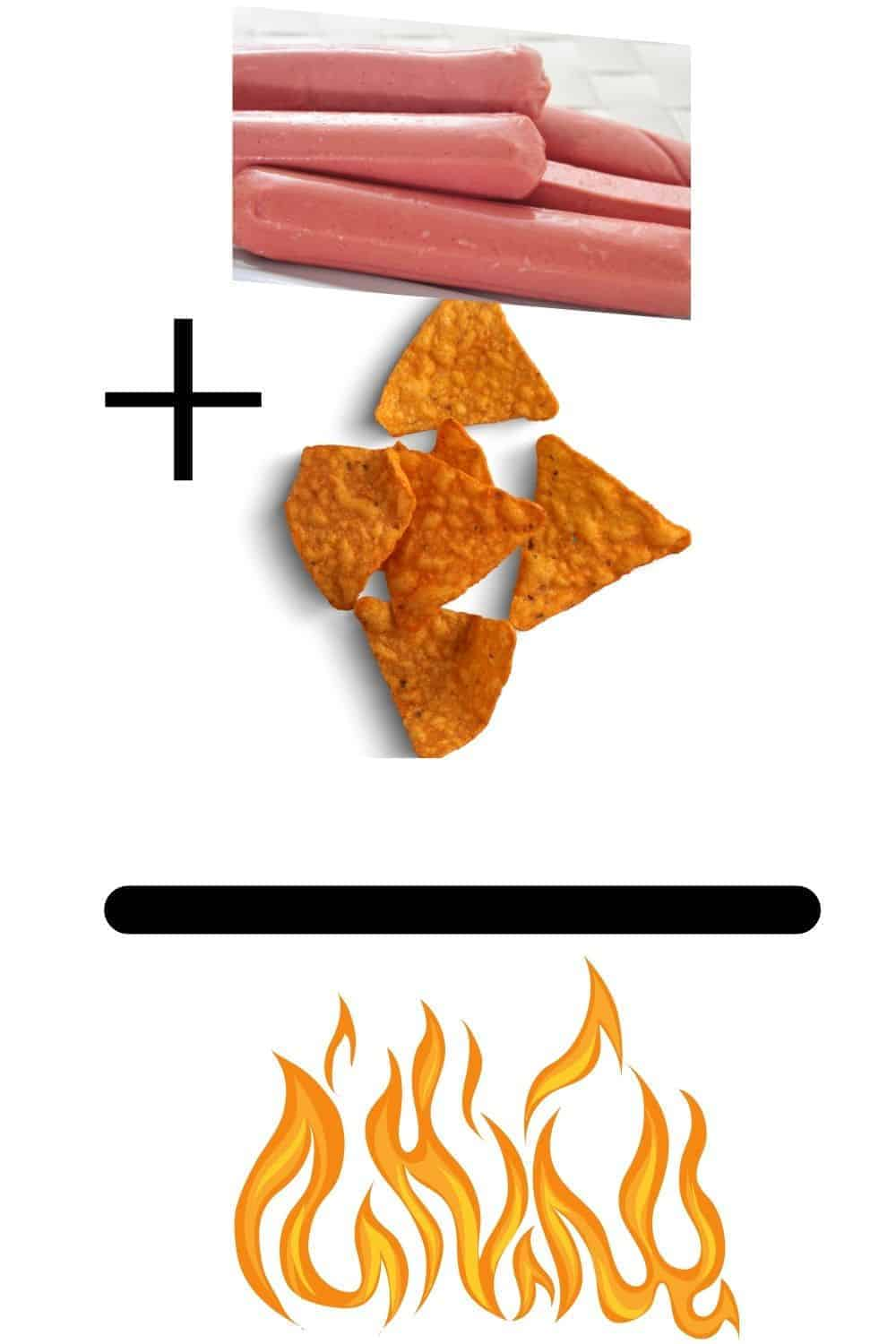 hot dogs and doritos for air fryer hot dogs with Doritos Crunch