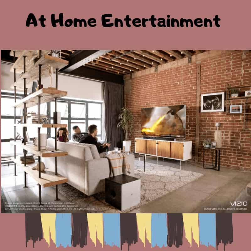 Tips For Making The Best Movie Night Ever , movies, new year's resolution, things to do, sports, hockey, baseballs, football, stay at home, Vizio television, Best Buy, popcorn, food, drinks, best seats in the house, recline, enjoy, watch, view, be entertained, save money