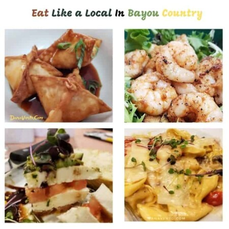 Bayou Country Lunch Destinations Shrimp Rangoon