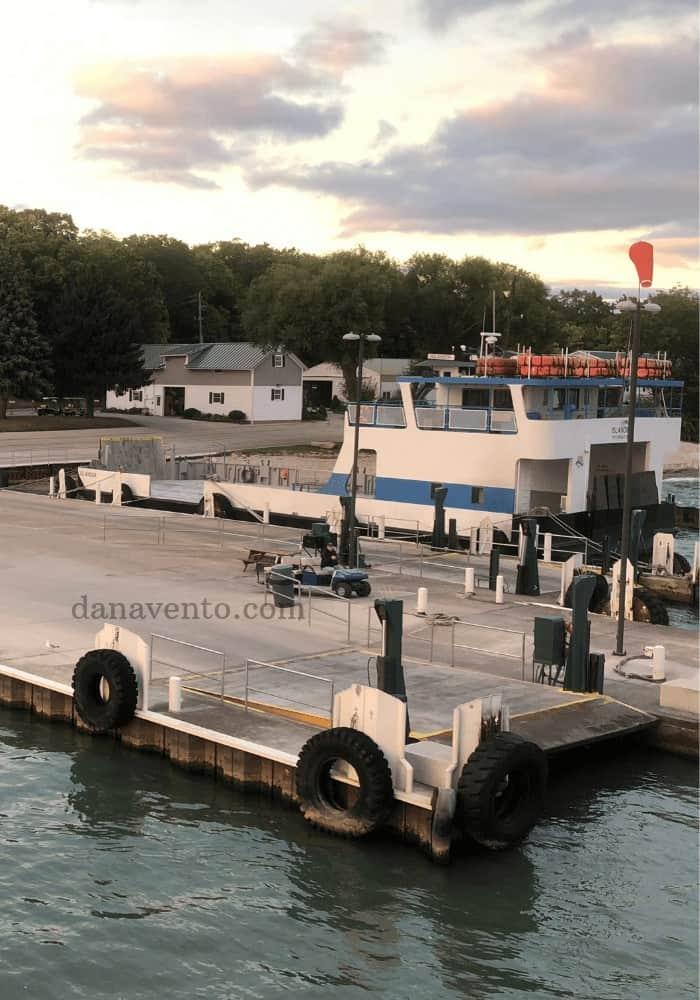 Lime Kiln Ferry Port