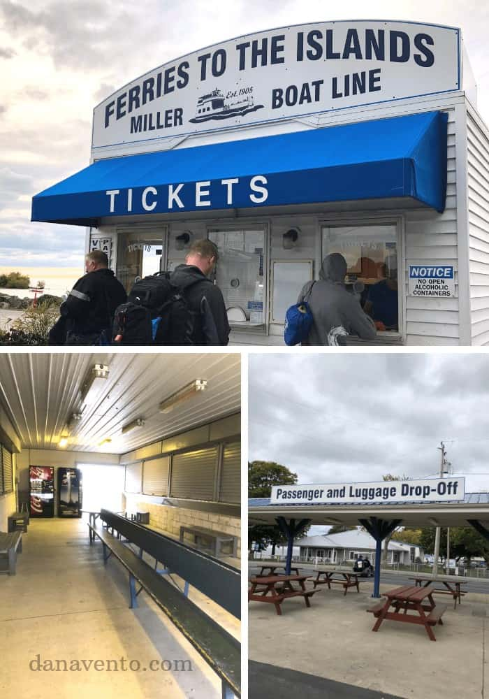 Ticketing To Ferry Miller Ferry