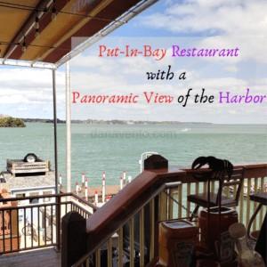 Put In Bay Premier Boardwalk Eatery. Food & Panoramic View