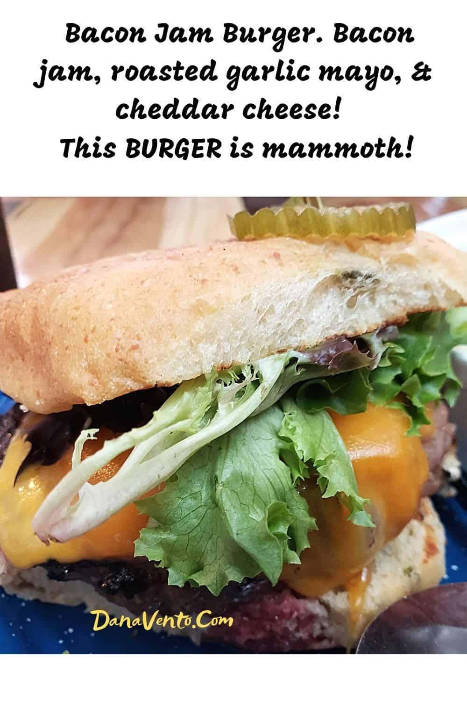 bacon jam burger Bayou Country Lunch Destinations