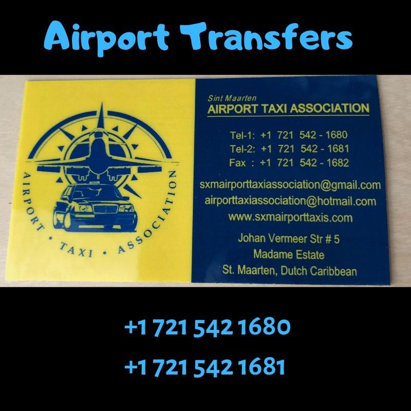 Airport Taxi Association card