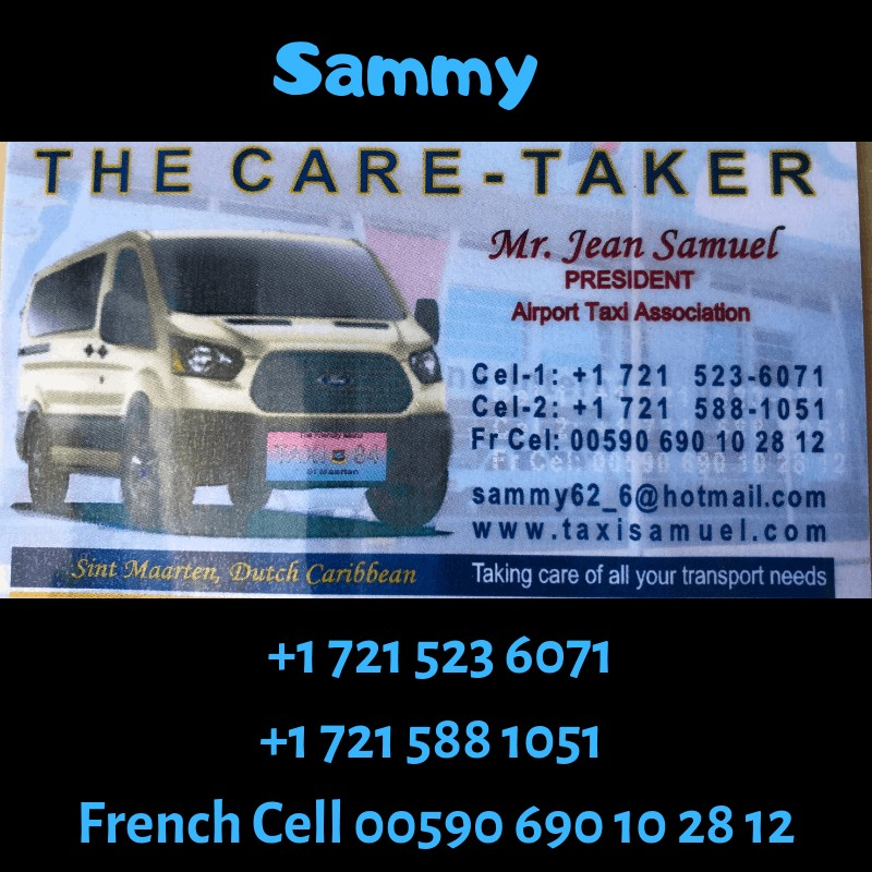 Airport Taxi Association business card