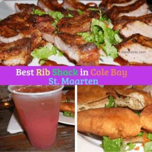 Best Rib Shack in Cole Bay, St. Maarten