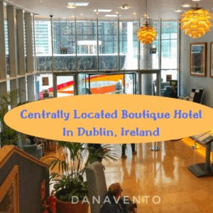 Centrally Located Boutique Hotel In Dublin That Won't Disappoint