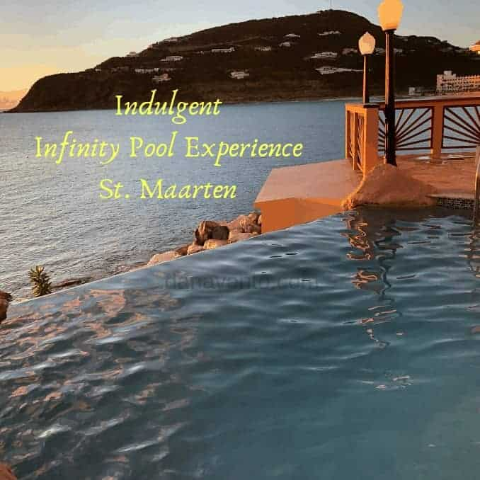 St. Maarten Infinity Pool and Bay