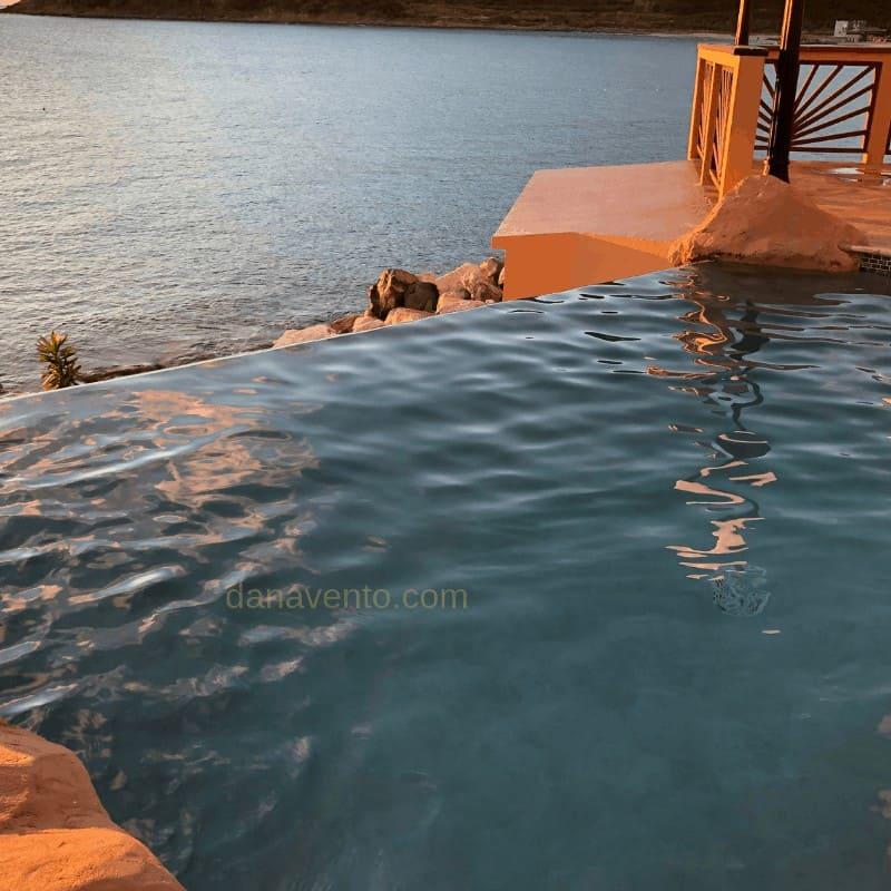 Divi Little Bay Resort Infinity Pool Edge
