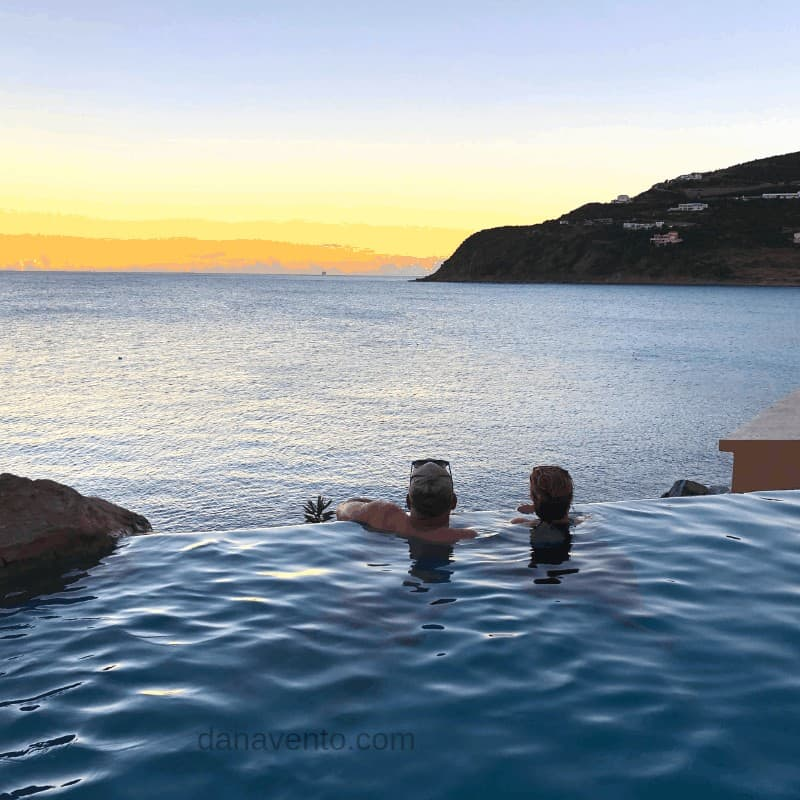 The Sunset At Divi Resort a nightly St. Maarten Infinity Pool Moment