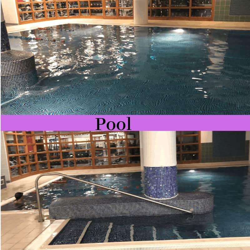 pool inside Ireland hotel