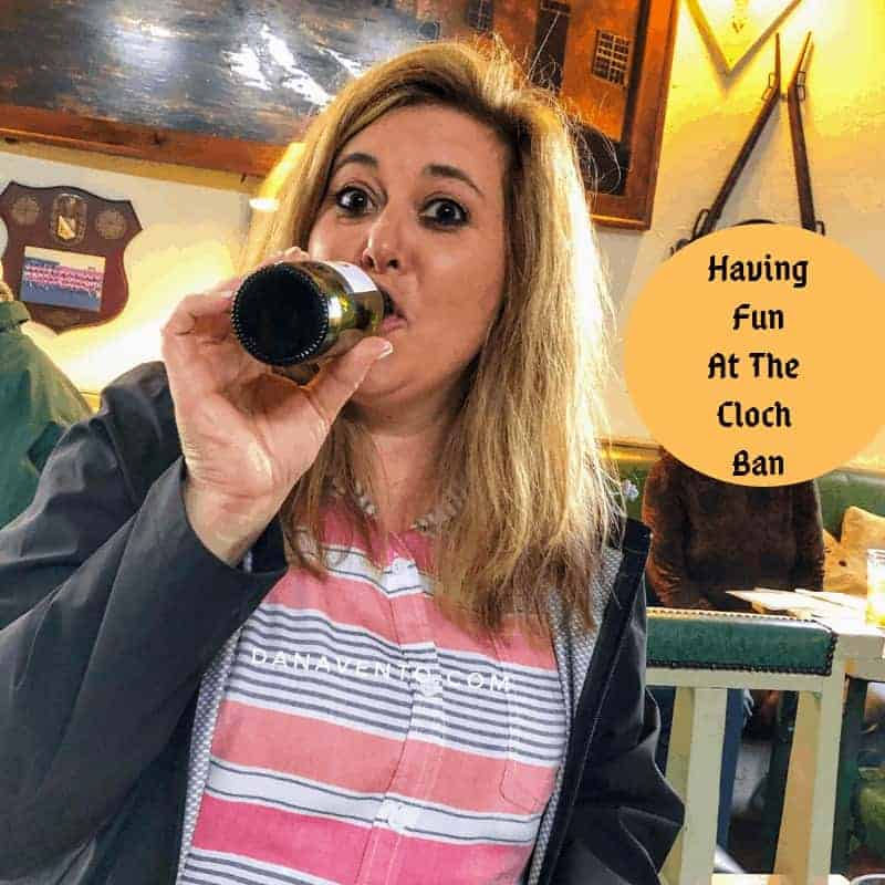 Cloch Ban. Irish pub in Clonroche