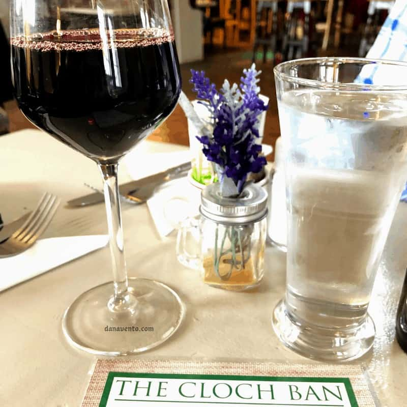 Wine in The Cloch Ban