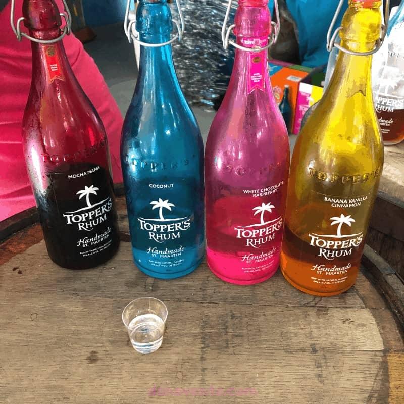 Topper's Rhum. Saint Martin Distillery