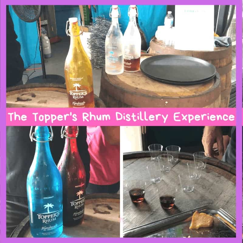 Sipping party at the St. Martin Distillery