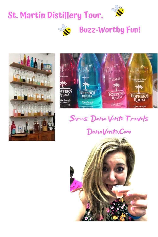 Sint Maarten Distillery Tour Buzz worthy fun Dana with Rhum