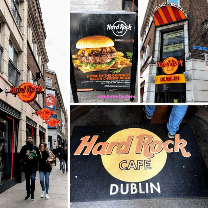 5 Reasons To Visit The Hard Rock Cafe in Dublin, Temple Bar Area, Dublin, Ireland, Irish Food, Local Legendary, Good Eats, Good Drinks, Music, fun, fabulous, good service, Guinness, Souvenir Glasses, Around The World, Ireland Hard Rock Cafe, huge, culinary travel, passport travel, The Hard Rock Cafe, Dublin Eats, Where to Eat and Drink, streets of Temple Bar, Culinary dining, culinary travel, passport travel, across the sea, Emerald Isle, food blogger, foodie, food and drink