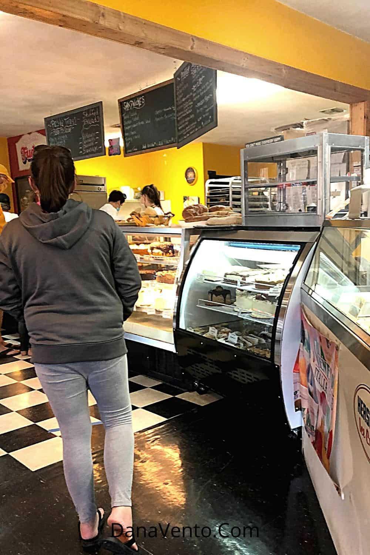 Bakery Shop in Duck inside