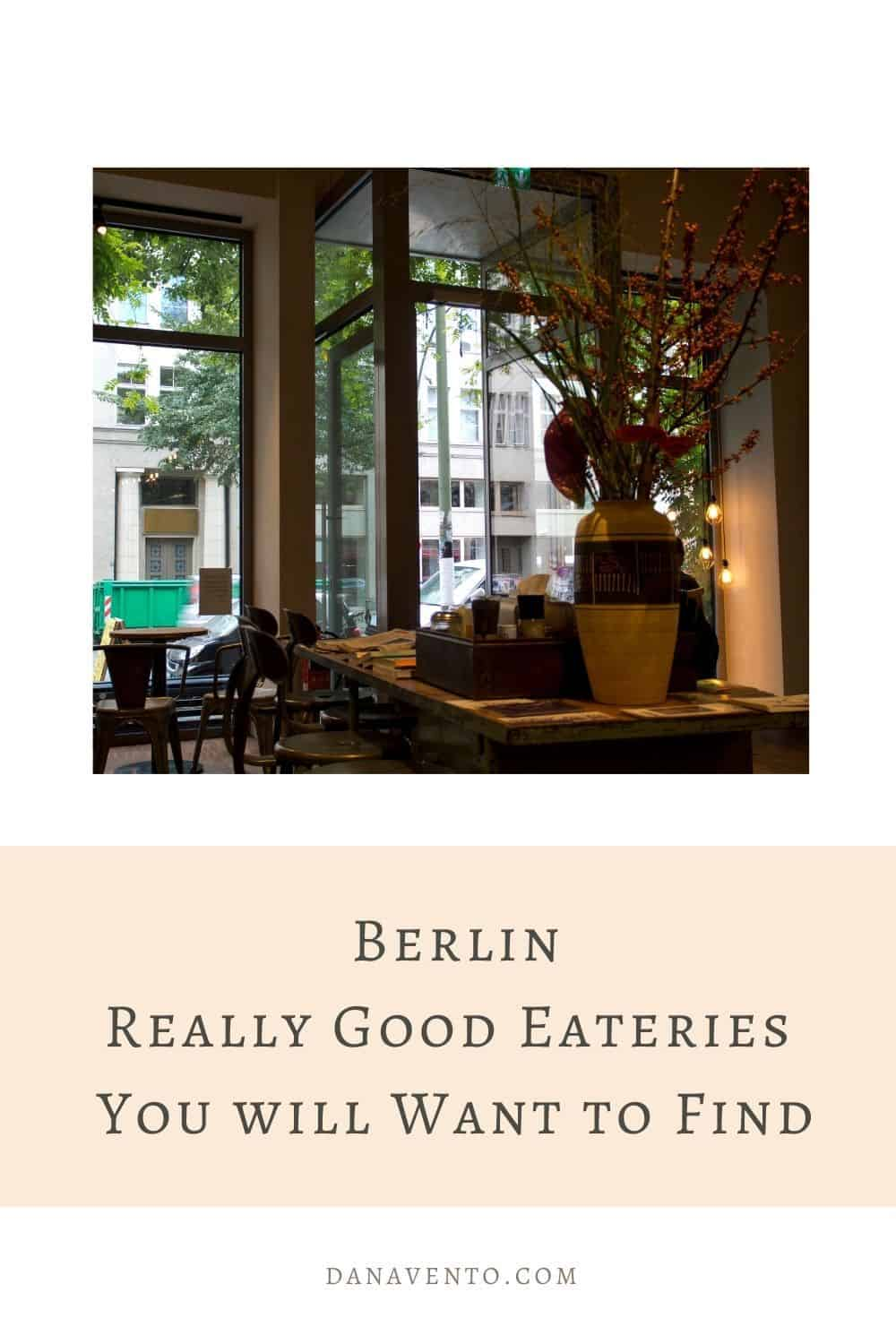 Berlin Really Good Eateries You will Want to Find