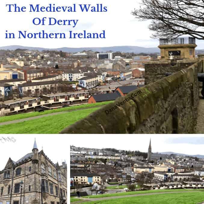 Walls of Derry in Northern Ireland