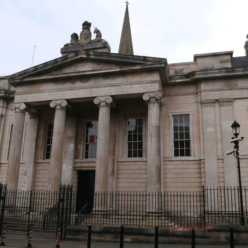 Bishop Street courthouse in Derry, Northern Ireland