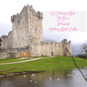A Carriage Ride Fit For a Princess Visiting Ross Castle In Killarney